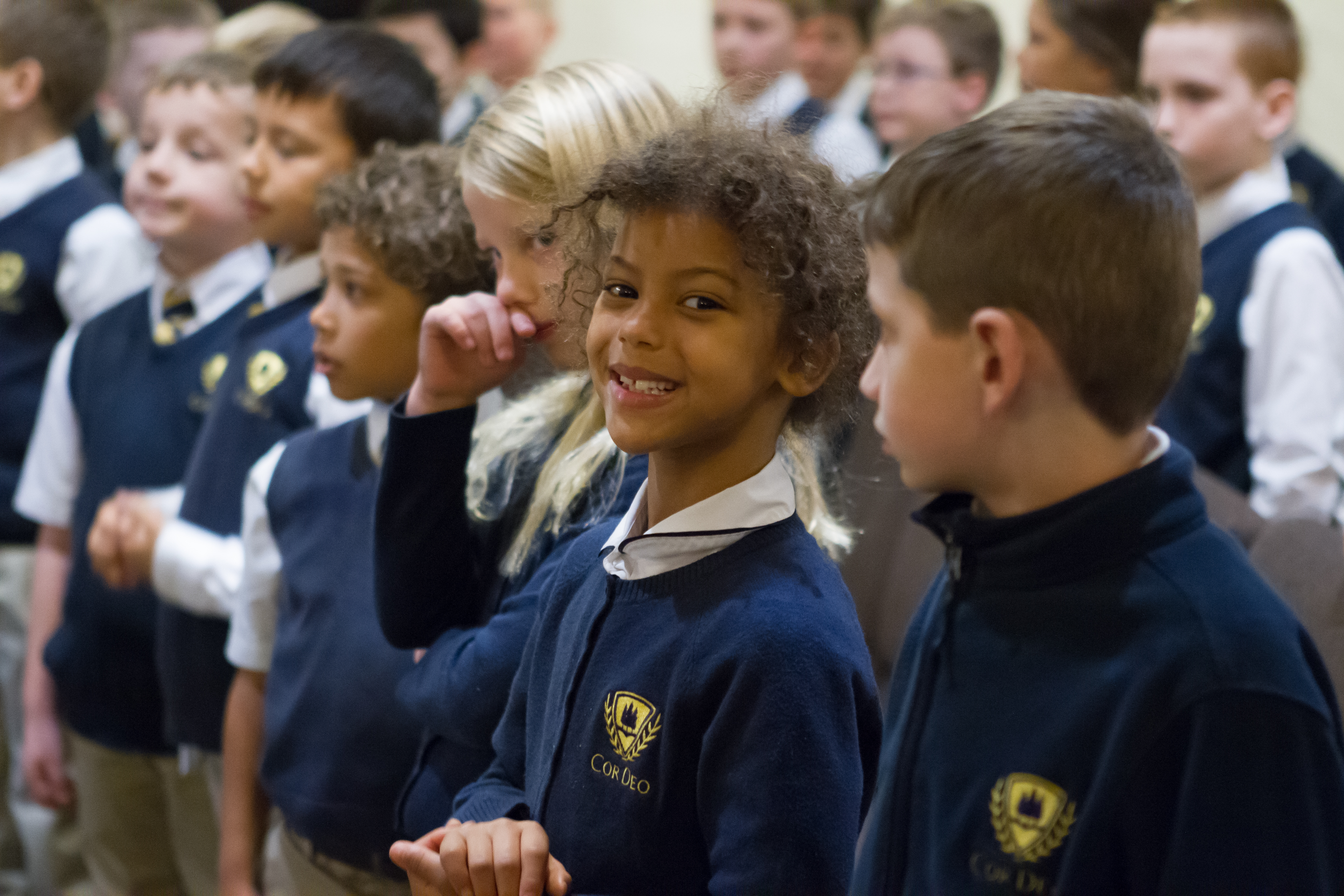 The Cor Deo School is setting the foundation for our children to fall in love with learning and learning to recognize God in everything around them.